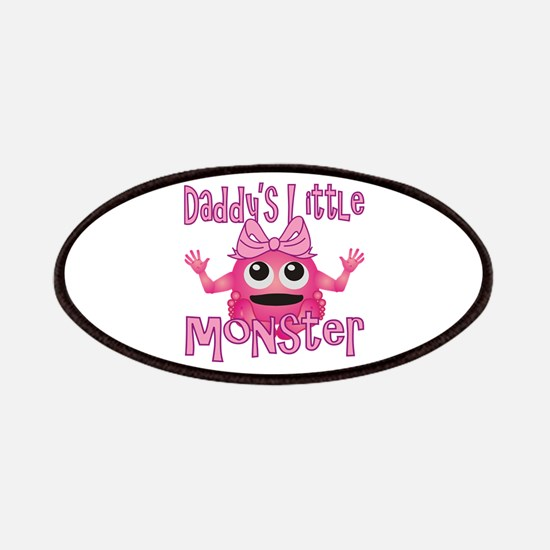 Girl Daddy's Little Monster Patches