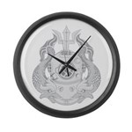 Master Diver Large Wall Clock