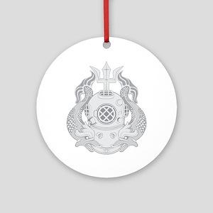 Master Diver Ornament (Round)