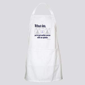 Without Data... Apron