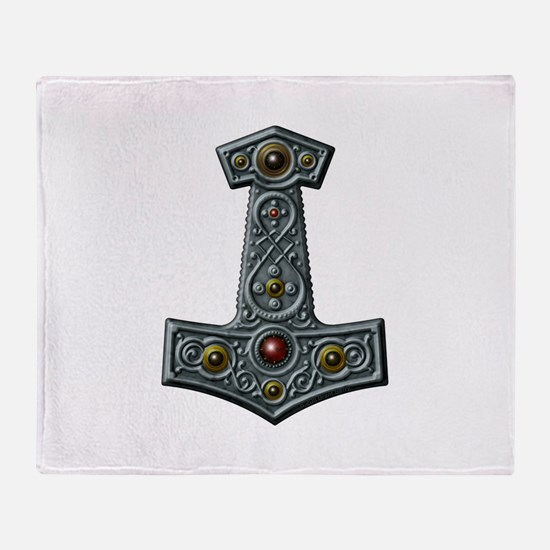 Thor's Hammer X-S Throw Blanket