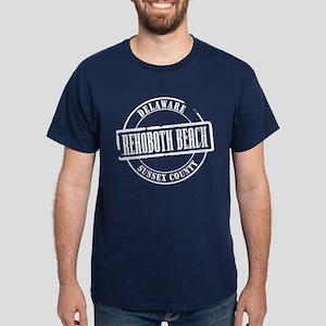Rehoboth Beach Title Dark T-Shirt