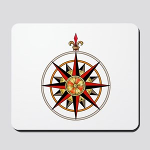 Compass Rose Mousepad