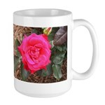 Red Museum Rose Large Mug