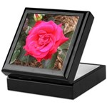 Red Museum Rose Keepsake Box