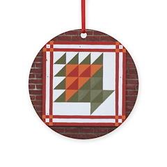 Basket Ornament (Round)