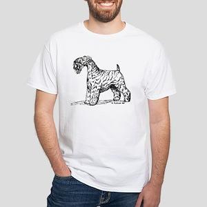 Kerry Blue Terrier White T-Shirt