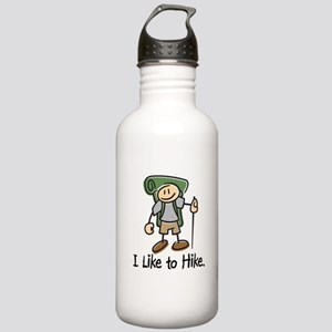 I Like To Hike (Green) Stainless Water Bottle 1.0L