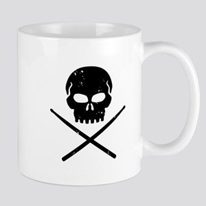 Skull and Drum Sticks Mug