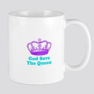 God Save the Queen (purple/tu Mug