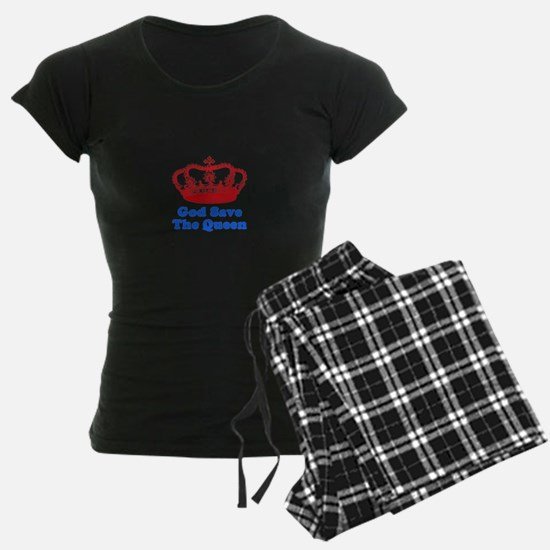 God Save the Queen (red/blue) Pajamas