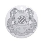 First Class Diver Ornament (Round)