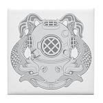 First Class Diver Tile Coaster