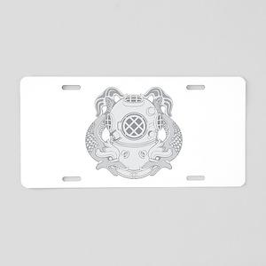 First Class Diver Aluminum License Plate