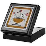 Flower Pot Quilt Keepsake Box