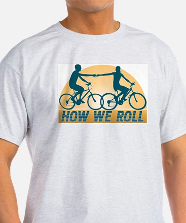How We Roll Cycling T-Shirt