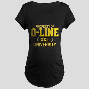 O-LINE U Maternity Dark T-Shirt