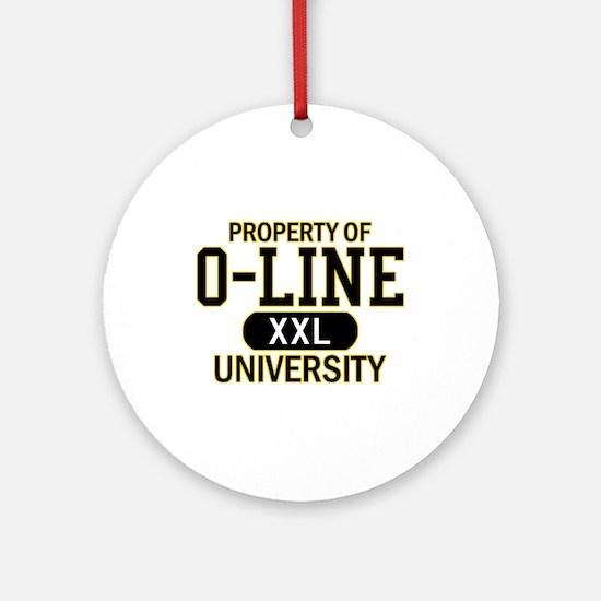 O-LINE U Ornament (Round)