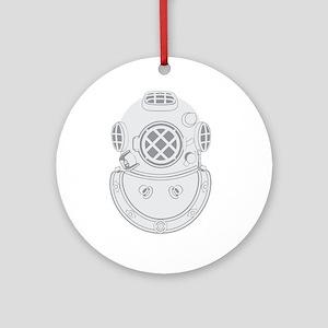 Second Class Diver Ornament (Round)
