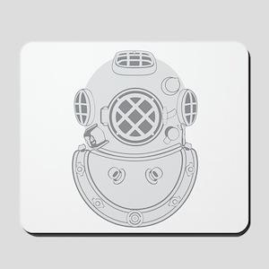 Second Class Diver Mousepad