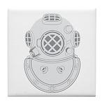 Second Class Diver Tile Coaster