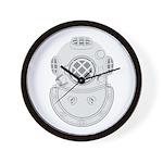 Second Class Diver Wall Clock