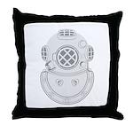 Second Class Diver Throw Pillow