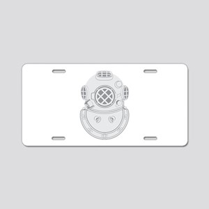 Second Class Diver Aluminum License Plate
