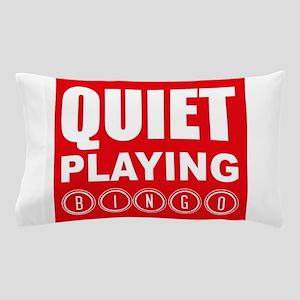 Quiet Playing Bingo Pillow Case