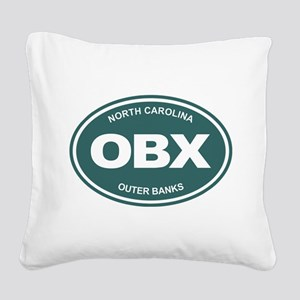 OBX Square Canvas Pillow