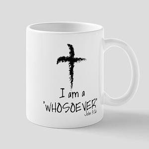 JESUS/CROSS: I AM A WHOSOEVER Mugs