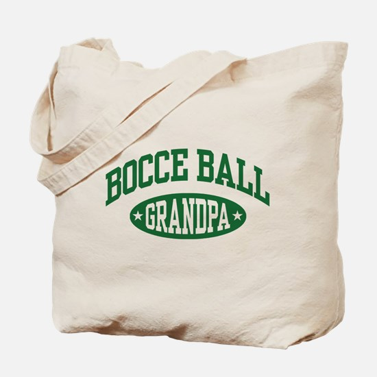 Bocce Ball Grandpa Tote Bag