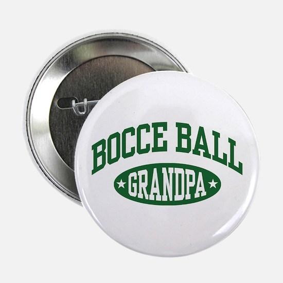 """Bocce Ball Grandpa 2.25"""" Button"""