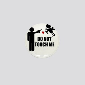 Do Not Touch Me Cupid Mini Button