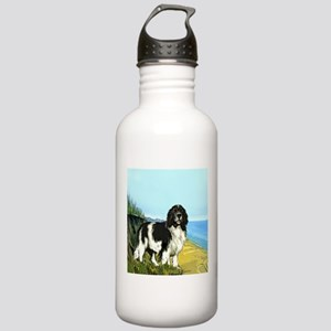 Landseer on the Beach Stainless Water Bottle 1.0L