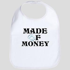 Made Of Money Bib