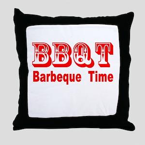 BBQT Throw Pillow