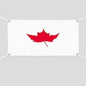 Canadian Maple Leaf Banner
