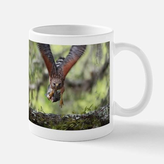 Unique Red hawk Mug