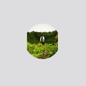 Opeakaa Falls, Hawaii Mini Button