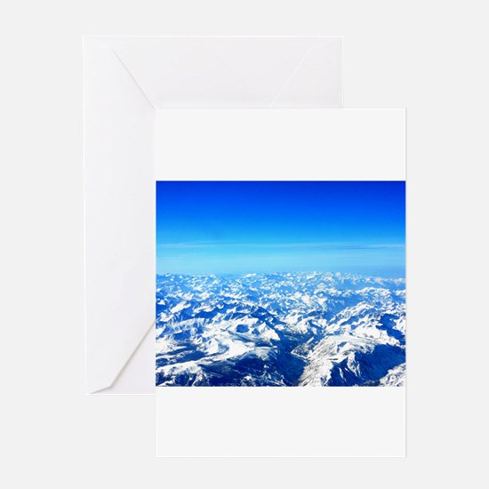 Sierra Mountains Greeting Card