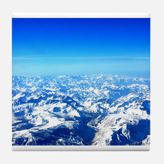 Sierra Mountains Tile Coaster
