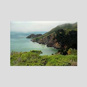 Marin Headlands Rectangle Magnet