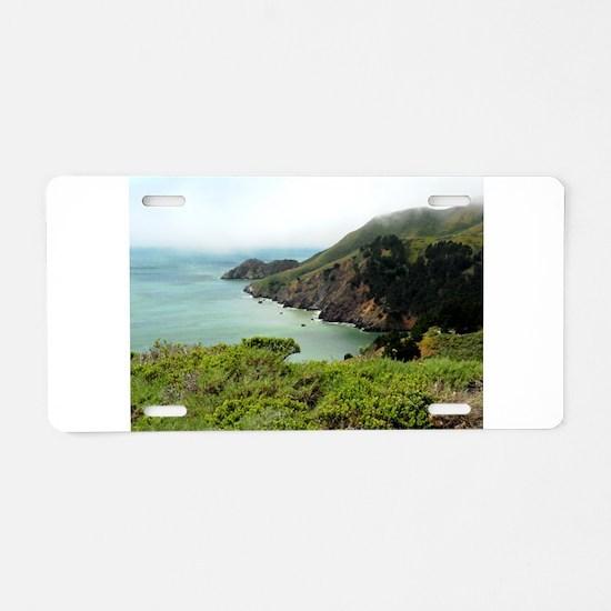 Marin Headlands Aluminum License Plate