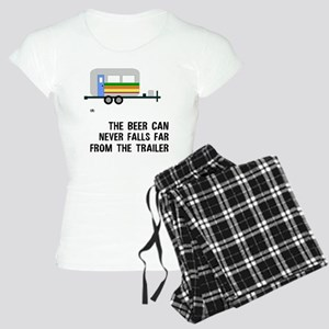 The Beer Can Doesn't Fall Far Women's Light Pajama