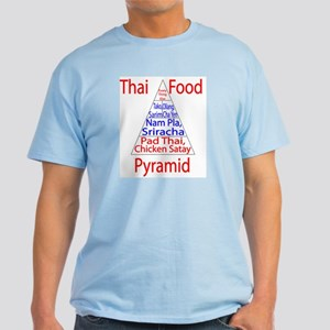 Thai Food Pyramid Light T-Shirt
