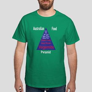Australian Food Pyramid Dark T-Shirt