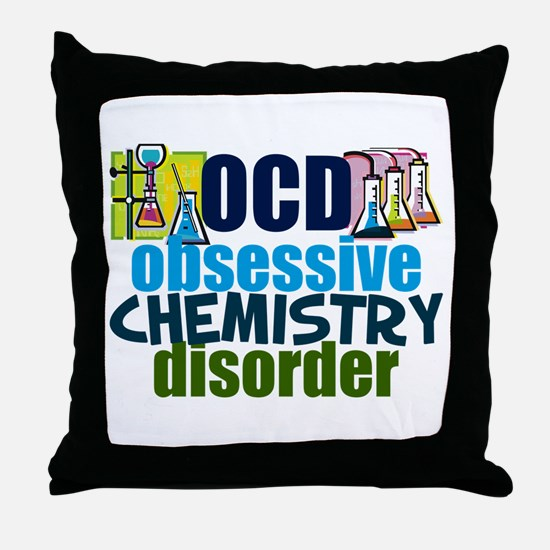 Funny Chemistry Throw Pillow