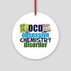 Funny Chemistry Ornament (Round)