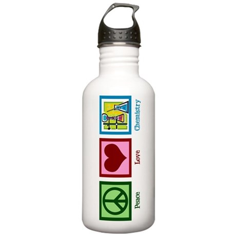 Peace Love Chemistry Stainless Water Bottle 1.0L